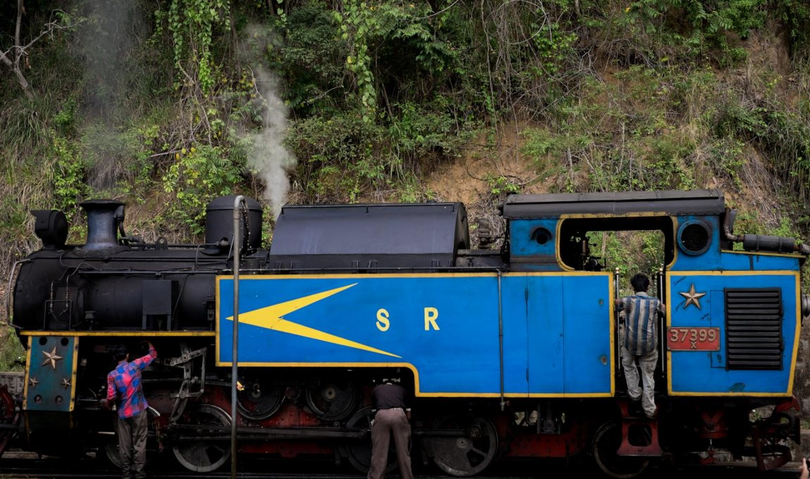 The Nilgir Mountain Railway Train.