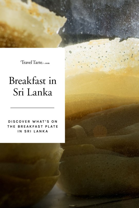 Breakfasts in Sri Lanka are like the country's landscape - bright and fresh and scattered with coconut. Find out exactly what's on the breakfast plate at traveltarte.com