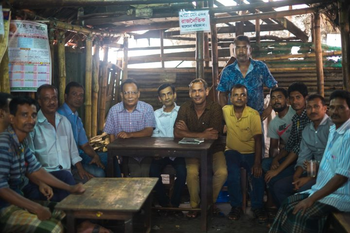 Teashops in Bangladesh are a great place to meet the locals.