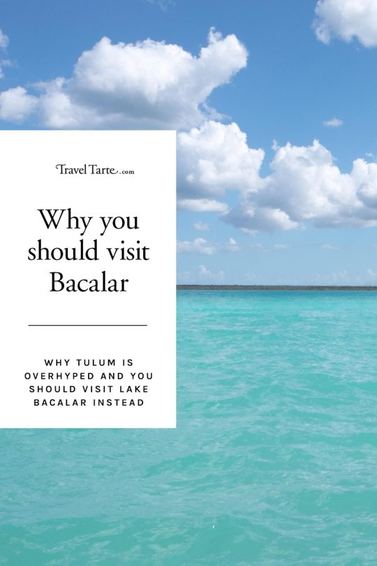 Tulum has become overhyped and overrun with tourists. Lake Bacalar is the perfect alternative.