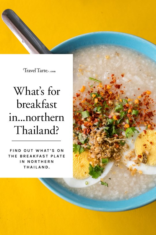 Breakfast in northern Thailand was all about comfort food and excellent condiments. Find out more at www.traveltarte.com