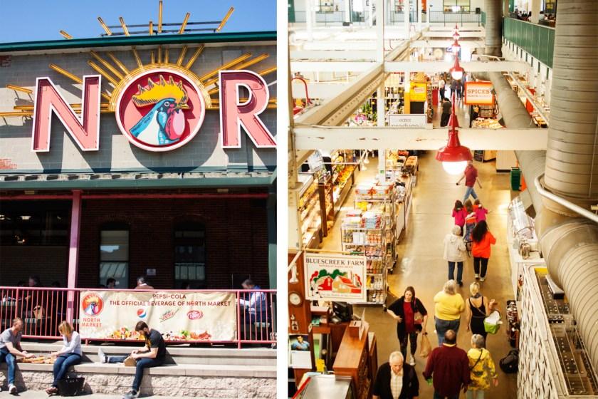 North Market in Columbus, Ohio with over 30 local vendors