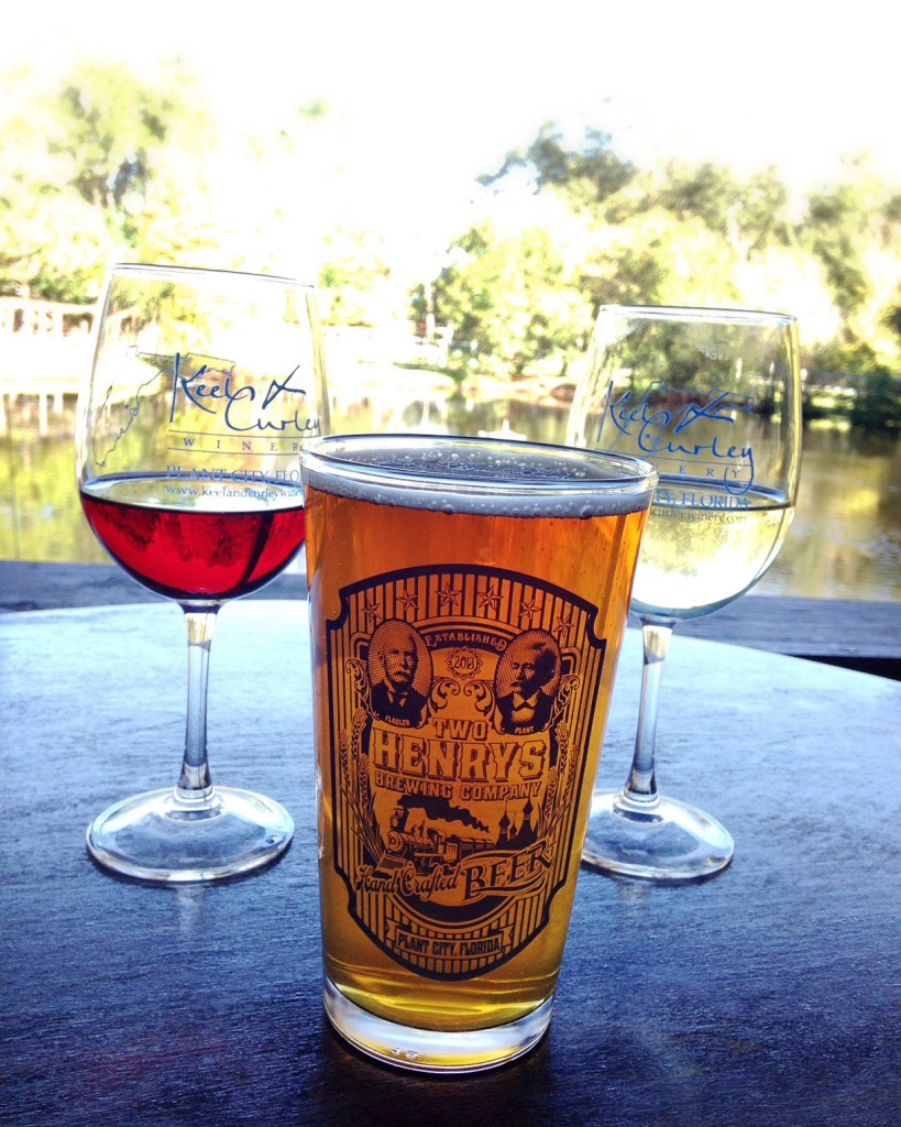 A winery and brewery in one - Keel & Curly Winery and Two Henrys Brewing Co in Plant City, FL