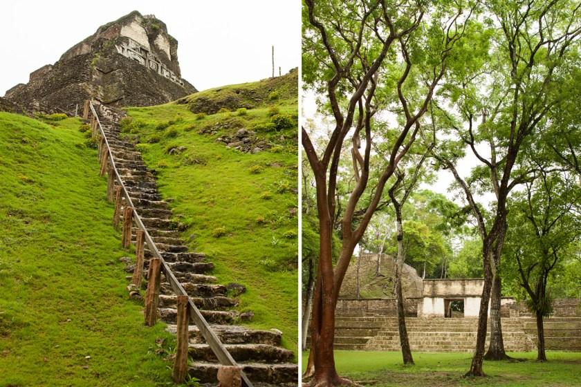 Xunantunich and Cahal Pech Maya Ruins - Belize