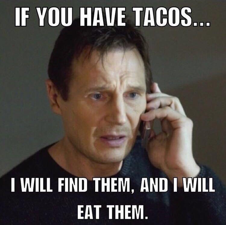 taken taco meme