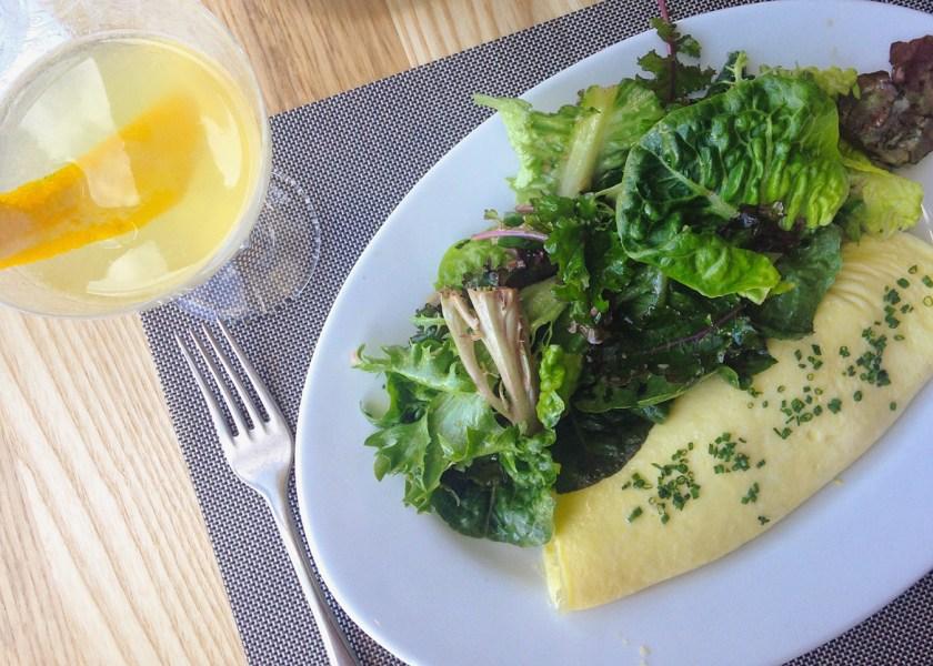 Fine Herb Omelette from DoveCote, Orlando FL