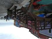 Burano canal footbridge