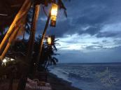 The sea at night ko Samui