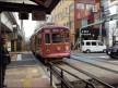 Trams tartan Nagasaki Japan