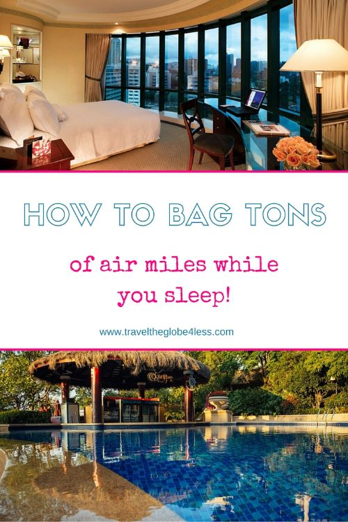 earn air miles while you sleep