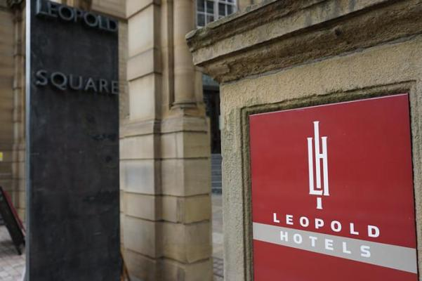 Exterior of Leopold Hotel Sheffield