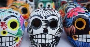 Mexico City skulls