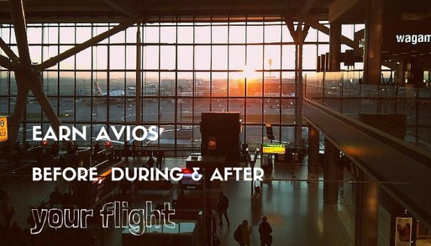Earn AVIOS at the airport