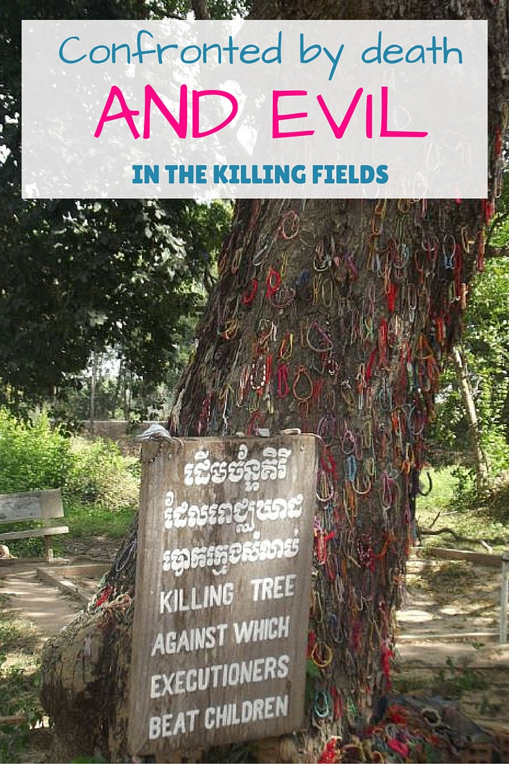 the tree reserved for the battering of babies in the Killing Fields