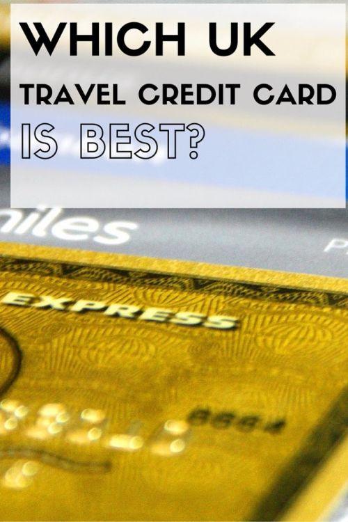 best uk travel credit card Pinterest
