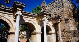Hadrians Gate Old town Antalya