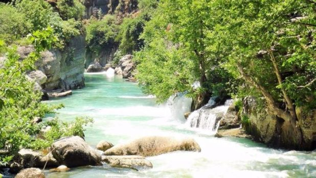 white water rafting in Antalya 4