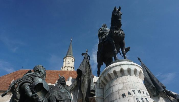 Cluj-Napoca town square