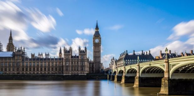 Visit London for views of Westminster