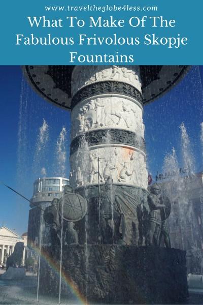 Fountains of Skopje