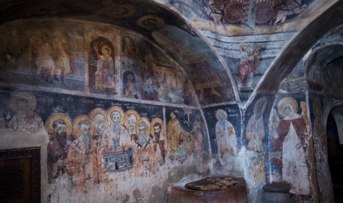 St. Naum frescoes