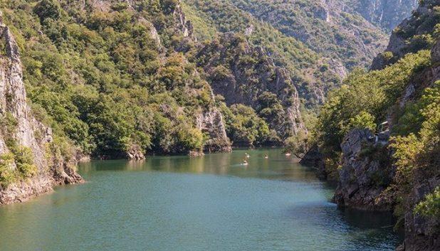 Matka Canyon views