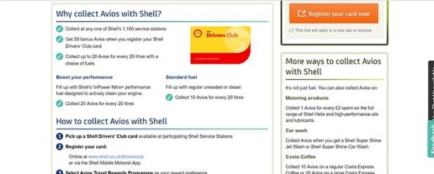 Register Shell Drivers Card screenshot