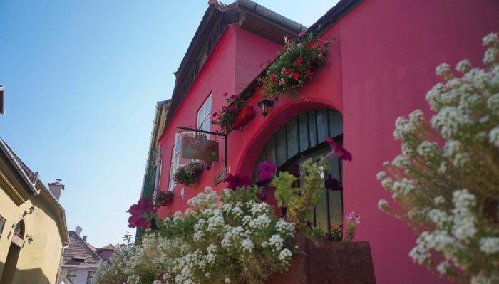 Beautiful buildings of Sighisoara