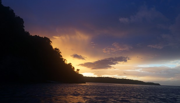 sunset in Mindoro