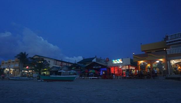 White Beach nightlife