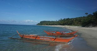 beautiful beach in Mindoro