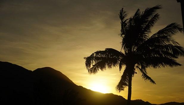 Sunset from Utoppia Resort