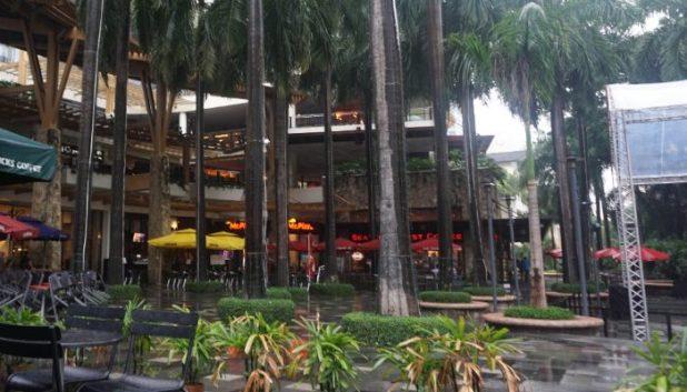 The Greenbelt shopping complex, Makati, Manila