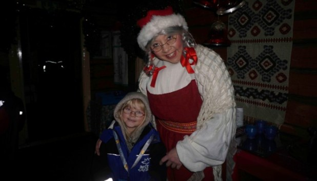Visiting Mrs Claus