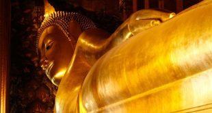 The reclining Buddha, Bangkok