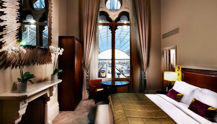 a suite at the St Pancras, Renaissance