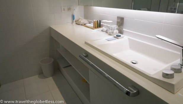 Bathroom at the Nest Hotel Incheon