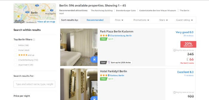 earn AVIOS in Berlin