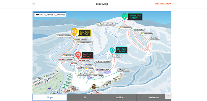 Yongpyong ski slopes