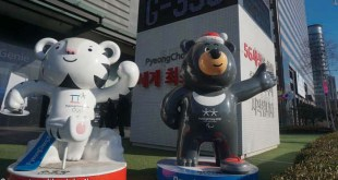 The 2018 Winter Olympics mascots