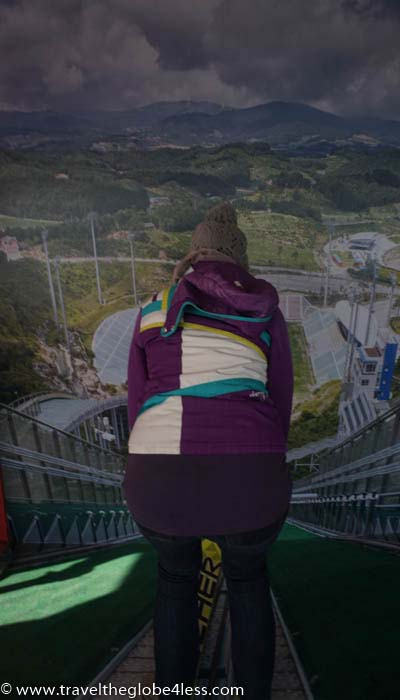 Alpensia ski jump tower
