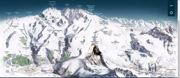 Zermatt Cervinia ski area