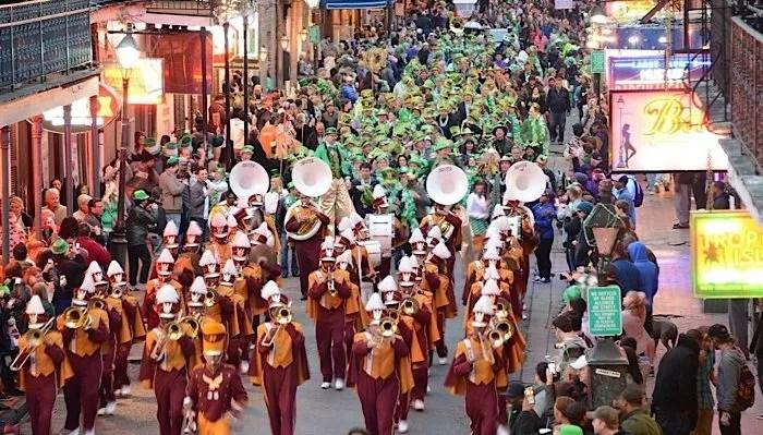 St Patricks Day revelry
