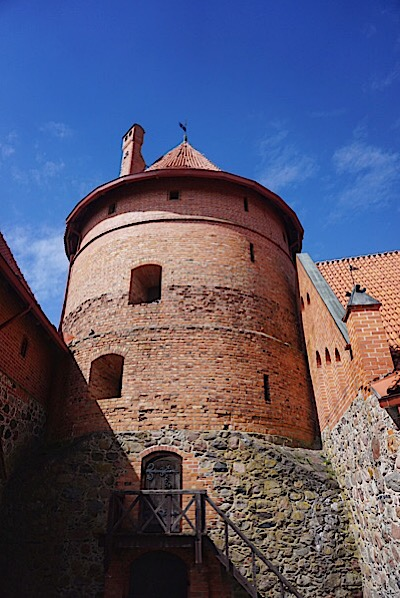 Trakai Castle tower