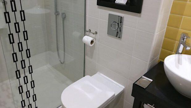 Bathroom of the Hotel Indigo