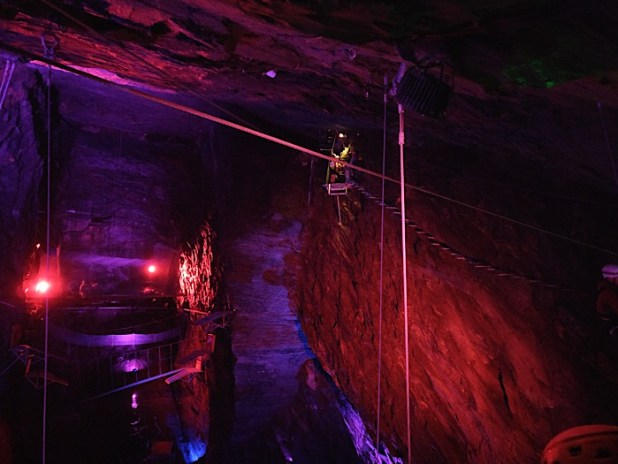 Caverns at Zipworld