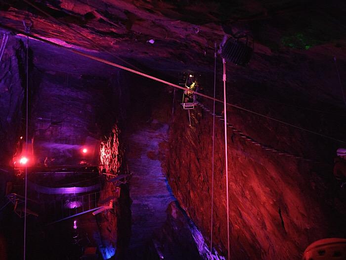 Caverns at Zipworld