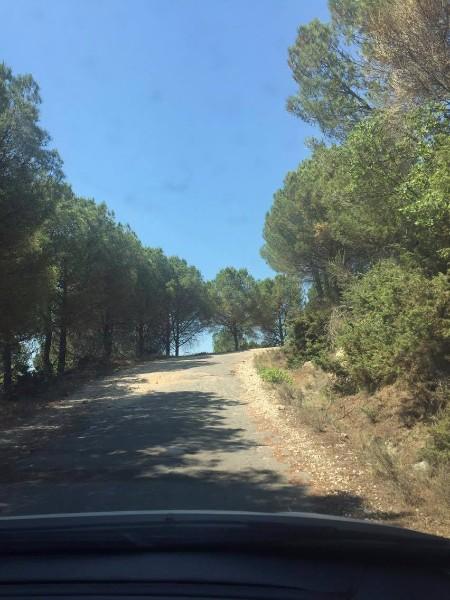 Mountain roads in Albania