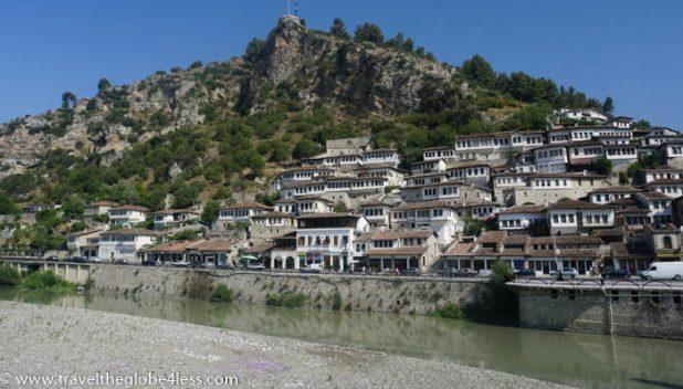 Berat hillside