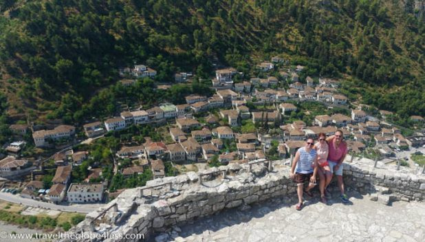 The castle of Berat